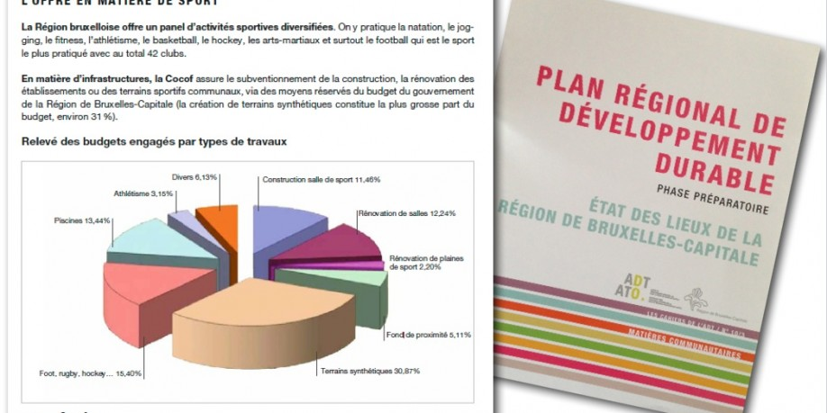Official publication of the Regional Government - Cahier de l'ADT n°10/3